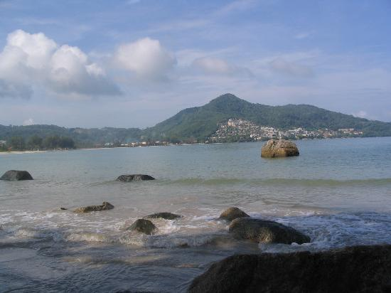 From the north end of Kamala beach