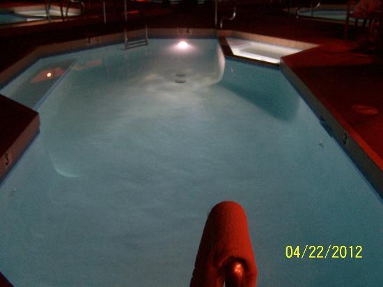 Sybaris Frankfort: 22 ft 92 degree pool