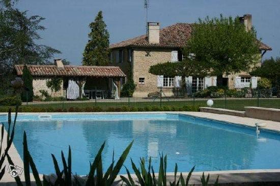 Gajac, France : Piscine