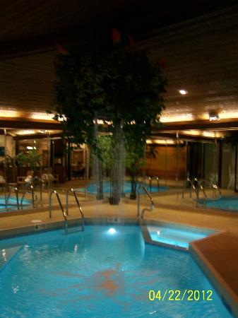 Sybaris Frankfort: The Pool in its own enclosure