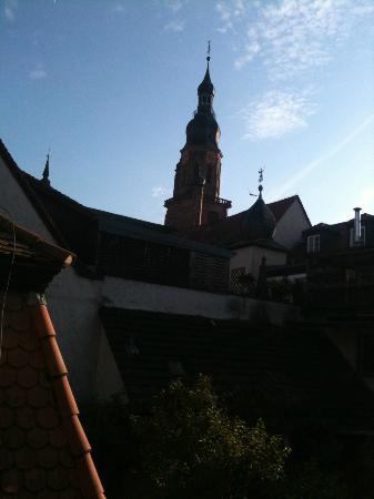 Hotel Zur Alten Brücke: Zimmeraussicht