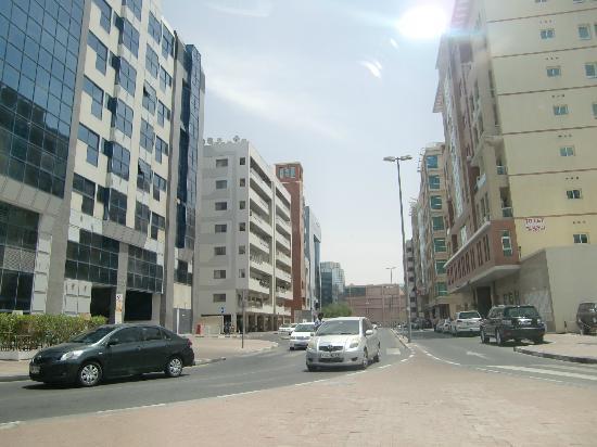 Rose Garden Hotel Apartments - Bur Dubai: alrededor hotel