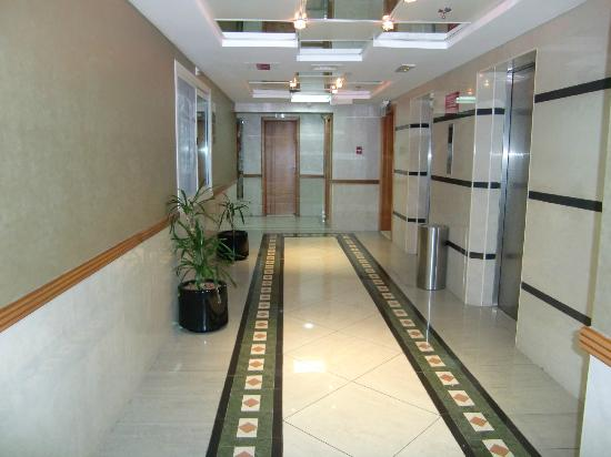 Rose Garden Hotel Apartments - Bur Dubai: zona ascensores