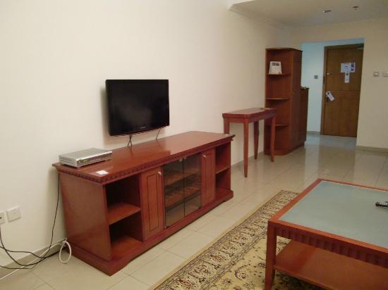 Rose Garden Hotel Apartments - Bur Dubai: salón