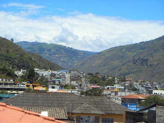 Hostal Chimenea: Vista desde el balcón
