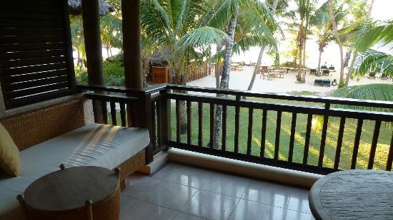 Constance Lemuria: Junior Suite balcony