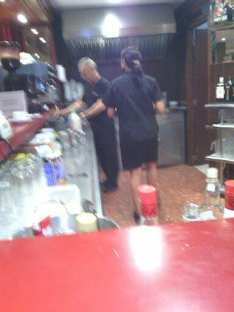 Gala Placidia Hotel: great bar staff