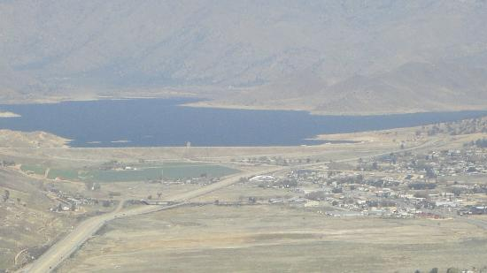 Isabella Motel: View of Lake Isabella