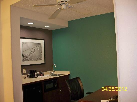 SpringHill Suites Philadelphia Plymouth Meeting: Ceiling Fan - nice touch