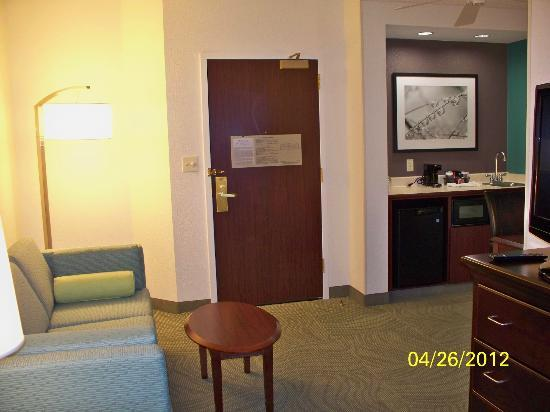 SpringHill Suites Philadelphia Plymouth Meeting: Living area