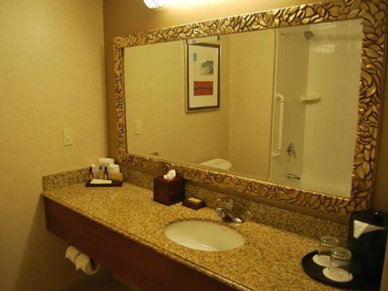 San Diego Marriott Del Mar: Bathroom.