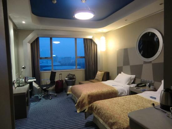 Yaxiang Jinling Hotel Luoyang: standard room, bed comfy