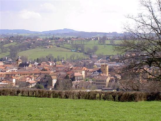 """Clos De Charlieu : Charlieu, ville médiévale """"un des 100 plus beaus détours de France"""""""