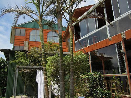 Cabinas y Hotel Vista Al Golfo: huge panoramic windows