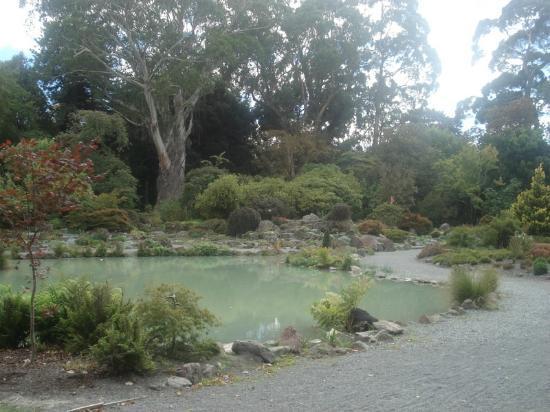 Pavilions Hotel: Botanical Garden