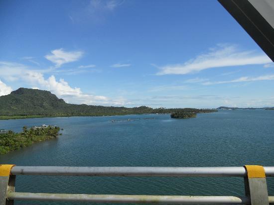 Pont de San Juanico : the view from the bridge