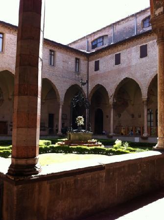 Hotel Al Santo: Einer der Innenhöfe