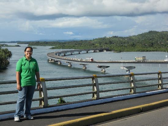 """Pont de San Juanico : The """"S"""" form of the bridge"""