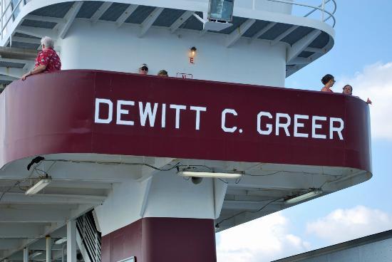 Galveston - Port Bolivar Ferry: Aboard the DeWitt C Greer