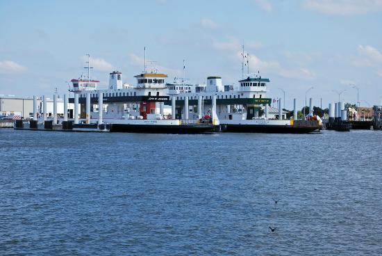 Galveston - Port Bolivar Ferry: Galveston Ferry Terminal