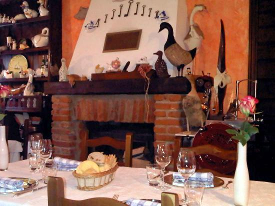Osteria dell'Oca Bianca: Camino