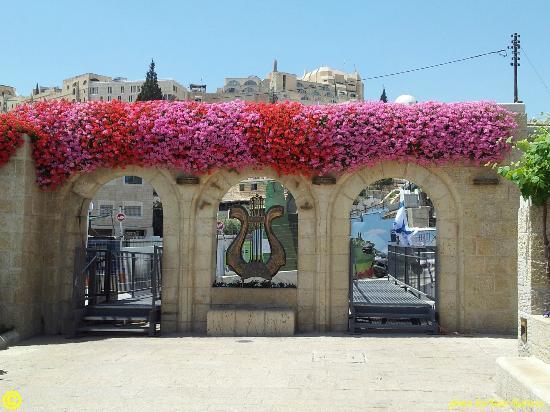 Jerusalem Walls - City of David National Park : Main entrance to David's City