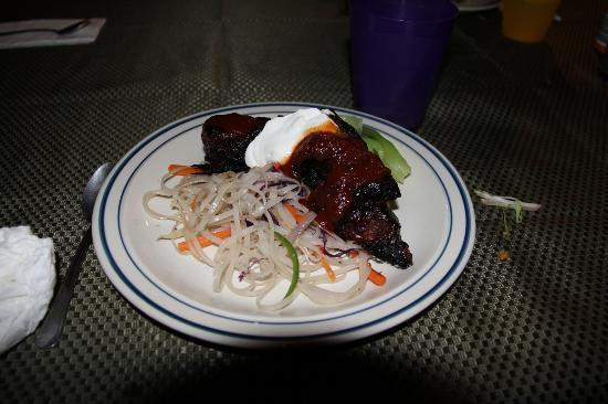 Alaska Powder Descents: Juicy tender boneless rib dinner. Great way to finish a hard day of skiing.