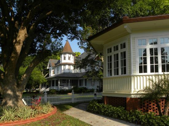 """Palmetto Riverside Bed and Breakfast: Looking past """"our"""" room, we have a view of the home of the founder of Palmetto."""
