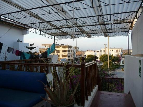 Hostal los Frayles: Terrace