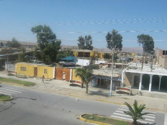 Hostal los Frayles : Looking onto the Street