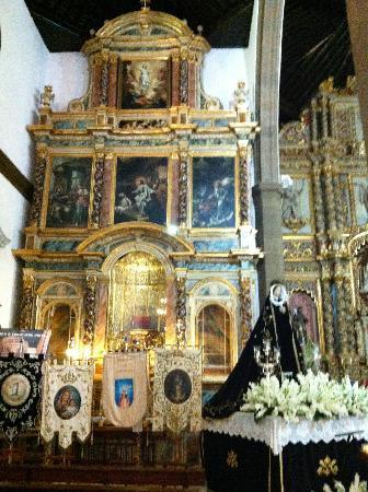 Iglesia de Nuestra Senora de la Pena Francia: Inside Church