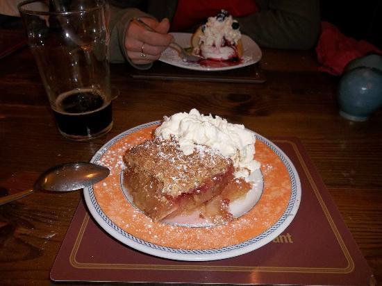 Roundstone, Ireland: Dessert