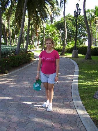 Wilhelmina Park: Entrando a la Plaza