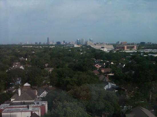 Hilton Houston Plaza/Medical Center: view from the room