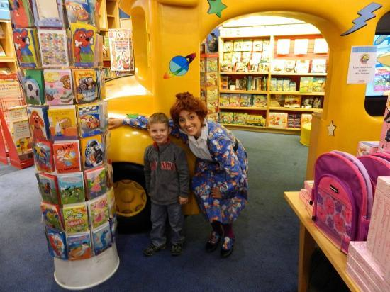 Scholastic Store: The Frizz makes her visits.