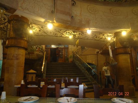 Balbaa Village: Stairs to the upper floor