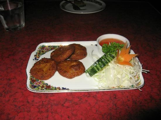Greenchilli Thai: Starter selection