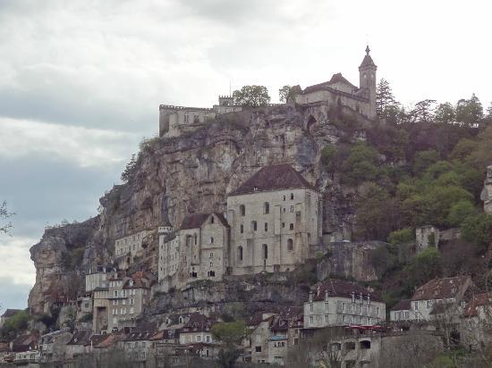 Chateau de Castel-Novel : Rocamadour