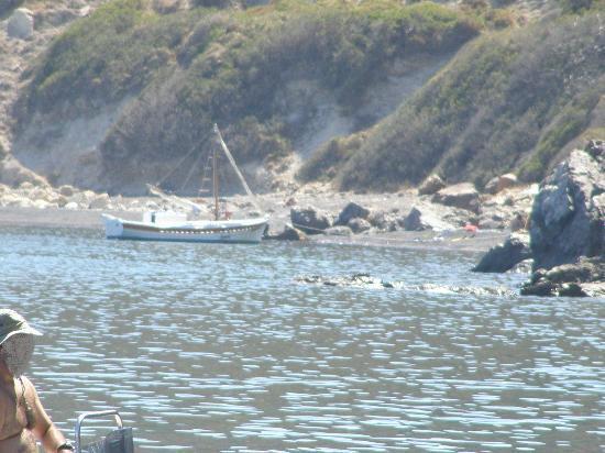 Chios, กรีซ: The third beach