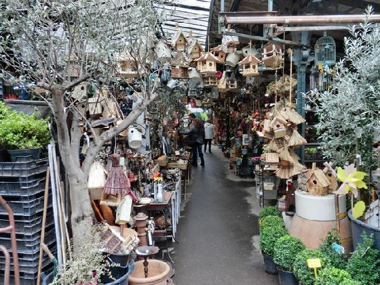 Ile de la Cite : Paris Cite Blumenmarkt