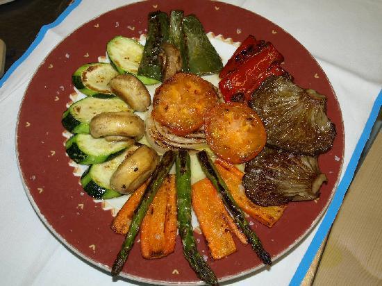 Asador El Panadero: verduras parrilla