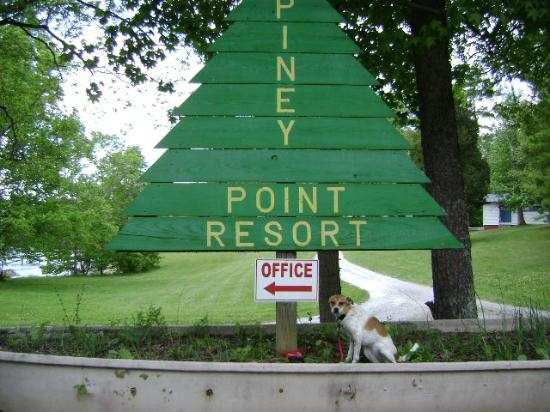Piney Point Resort: the sign of relaxation