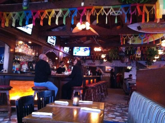 Avila's El Ranchito: Inside Avilas looking toward bar.