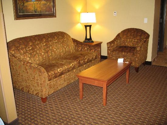 BEST WESTERN PLUS Grand Island Inn & Suites: Living area