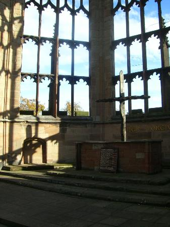 Shadow of the Cross, Altar, Coventry Cathedral