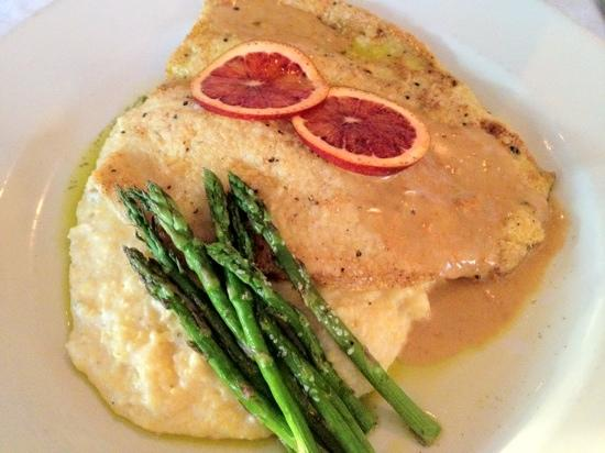 1908 Provisions: pan seared trout