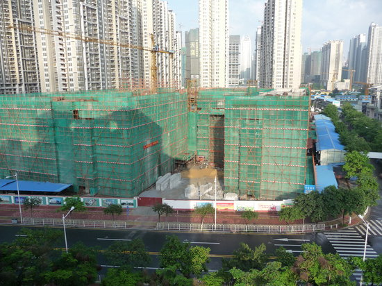 The Canton Residence : 3 years of construction still going!