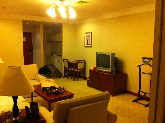 Metropark Hotel Shenzhen: living area