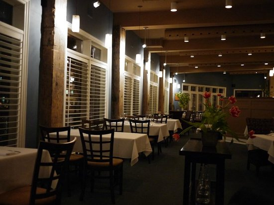 Treadwell: Restaurant inside - we were the last to leave