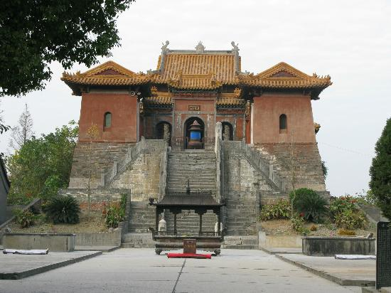Jingzhou, China: The temple